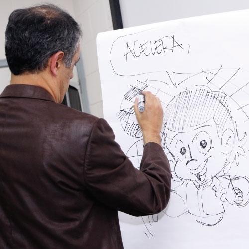 """Criador do """"Senninha"""" apresenta seus conceitos sobre arte e criatividade"""